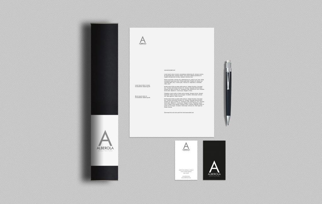 Diseño logotipo arquitecto