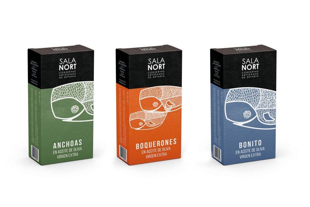 diseño de packaging en vitoria, diseño de envases y estuches para productos gourmet, agencia de publicidad la factoria grafica