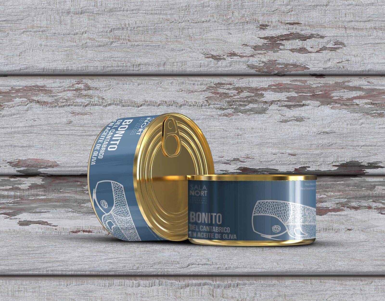 diseño de packaging la factoria grafica, diseño de envases para conservas y alimentación gourmet la factoria grafica