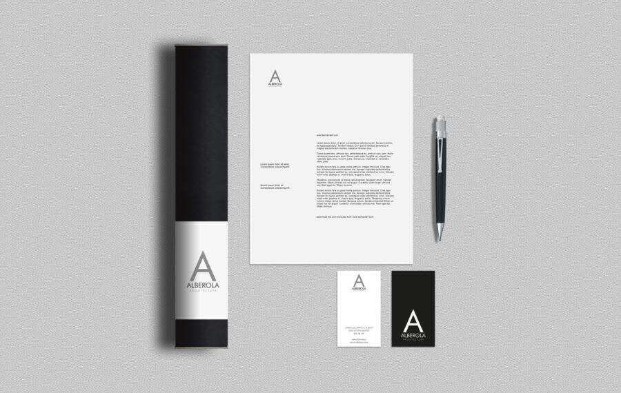 restyling de marca para estudio de arquitectura en vitoria la factoria grafica