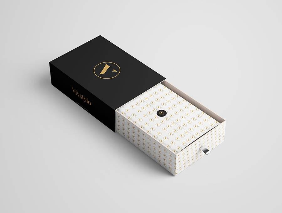 agencia de packaging la factoria grafica, estuches gourmet de diseño elegante