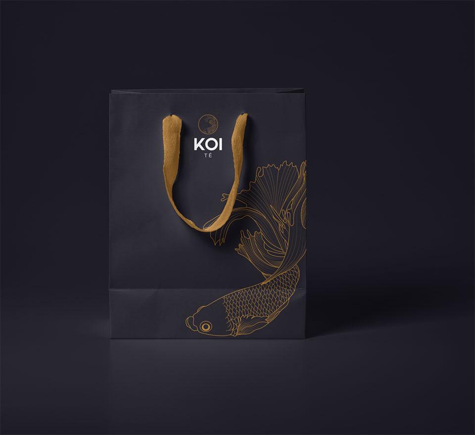 diseño de bolsas boutique para empresa de té gourmet, diseño grafico en vitoria y bilbao la factoria grafica